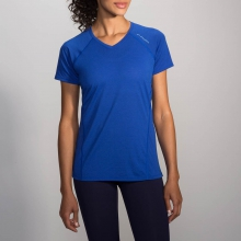 Women's Distance Short Sleeve by Brooks Running in Hoffman Estates Il