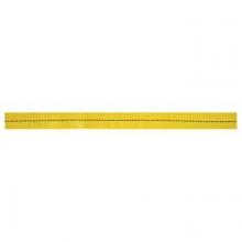 "1""x300' yellow tubular webbing by Abc"