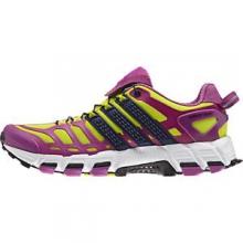 adistar Raven 3 Running Shoe Women's, Semi Solar Yellow/Night Sky/Lucky Pink, 10 by Adidas