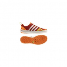 Mens Climacool Boat Lace - Sale Dark Chili/Chalk/Solar Slime by Adidas