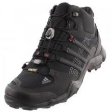 Terrex Swift R Mid GORE-TEX Hiking Boot Men's, Black/Vista Grey, 10 by Adidas