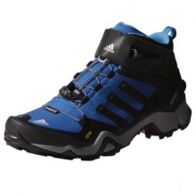 Terrex Fastshell Mid Boot Men's, Blue/Black, 8 by Adidas
