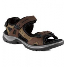 Yucatan Performance Sandal - Women's - Bison In Size by ECCO