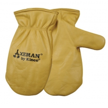 Gloves - Axeman Lined Leather Mitt - X-Large - Tan in Bellingham, WA