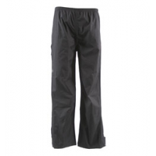 Trabagon Waterproof Breathable Rain Pants - Kid's - Black In Size by White Sierra
