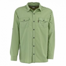 Bug Free Sanibel Long Sleeve Shirt Men's, Light Sage, L in Columbia, MO