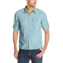 Bug Free Sanibel Long Sleeve Shirt Men's, Light Sage, L by White Sierra