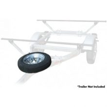 MicroSport Trailer Spare Tire with Mount by Malone