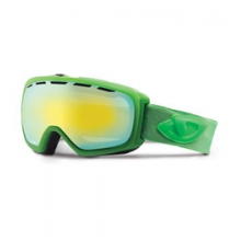 Basis Ski Goggle - Men's - Bright Green Saturate/Loden Yellow