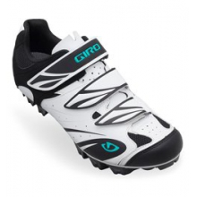 Riela II Off-Road Cycling Shoe - Women's - White/Black/Dynasty Green In Size: 37 by Giro