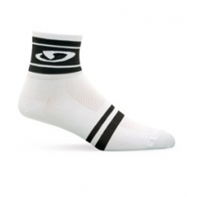 Classic Racer Sock - White/Black Modern In Size: Extra Large by Giro