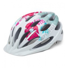 Raze Cycling Helmet - Kid's - White/Pink Wailua