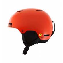Crue MIPS Youth Ski Helmet - Glowing Red In Size: YXS