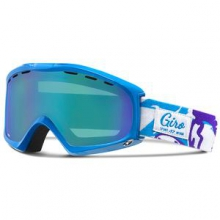Siren Goggles Women's, Blue Jewel Poppy by Giro