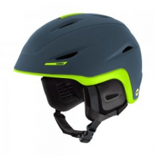 Union MIPS Helmet Adults', Matte Turbulence/Lime, M