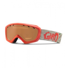 Chico Ski Goggle - Kid's - Red Glowing Camo/Amber Rose