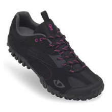 Petra Cycling Shoe - Women 2013 CLOSEOUT - Black/Rhodamine Red In Size: 37