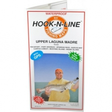 Map F116 Upper Laguna Madre Fishing Map (With GPS) by Hook-n-line