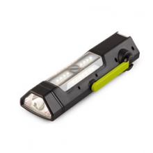 Torch 250 Flashlight and USB Power Hub - Black