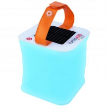 Packlite Spectra Color Inflatable Solar Powered Lantern by Luminaid