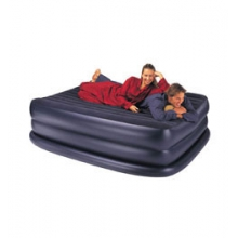 Queen Raised Downy Bed Air Mattress by Intex