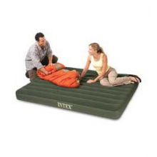 Prestige Twin Airbed Air Mattress with Built-In Pump by Intex