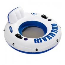 River Run 1 Inflatable Float Tube - Multi by Intex