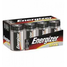 Energizer Max D Batteries 8 pk by Eveready