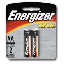 Energizer Max AA Batteries 2 pk by Eveready