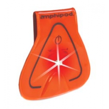 Vizlet Wearable Triangle LED Reflector Clip On by Amphipod