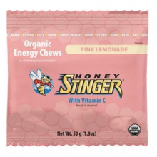Honey Stinger Pink Lemonade Energy Chews by Honey Stinger
