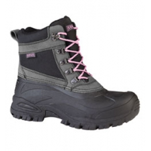 Cabot Winter Boot - Women's - Charcoal Grey/Pink In Size by Ranger