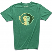 El Mono T Shirt Mens - Spring Green Heather XL by Howler Brothers