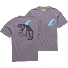 Evolution T Shirt Mens - Dove Grey L by Howler Brothers