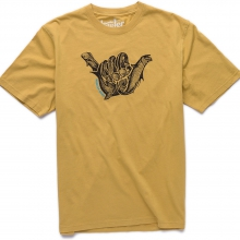 Fish Shaka T Mens - Acapulco Gold L by Howler Brothers