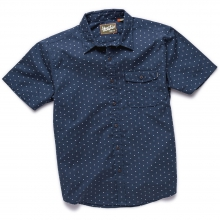 San Gabriel Short Sleeve Shirt Mens - Academic Dobby S by Howler Brothers