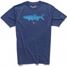 Silver King T Shirt Mens - Station Blue Heather L by Howler Brothers