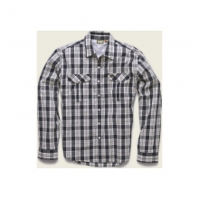 Mens Gaucho Snapshirt - Closeout Roundup Plaid: Airline Blue by Howler Brothers