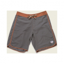 Mens Bruja Boardshorts - Closeout Field Grey/Orange 38 by Howler Brothers