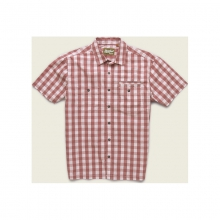 Mens Aransas Shirt - Closeout Fiesta Red Large by Howler Brothers