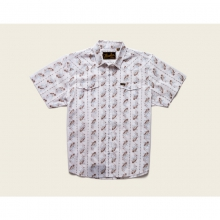 Mens H Bar B Snapshirt - Closeout Vintage Floral: Cream by Howler Brothers