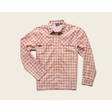 Mens Pescador Shirt - Closeout Tyson Plaid: Fuzzy Naval by Howler Brothers