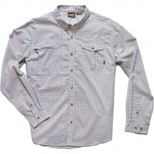 Matagorda Shirt Mens - Morrison Plaid: Sand S by Howler Brothers