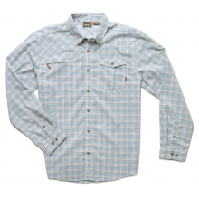 Matagorda Shirt Mens - Morrison Plaid: Sand S by Howler Brothers