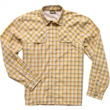 Pescador Shirt Mens - Tyson Plaid: Lemon Drop L by Howler Brothers