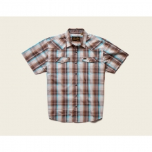 Mens H Bar B Snapshirt - Closeout Cosmic Plaid: Bison by Howler Brothers