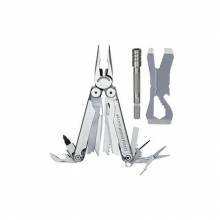 Wave Multitool with Croc and Bit Extender by Leatherman