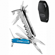 Juice CS4 Multi-Tool - Premium Sheath: Columbia Blue