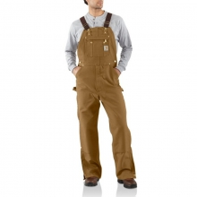 Men's Duck Zip-To-Thigh Bib Overall Pants (Unlined by Carhartt, Inc.