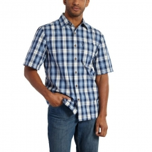 Men's Essential Plaid Short Sleeve Button Up Shirt in State College, PA